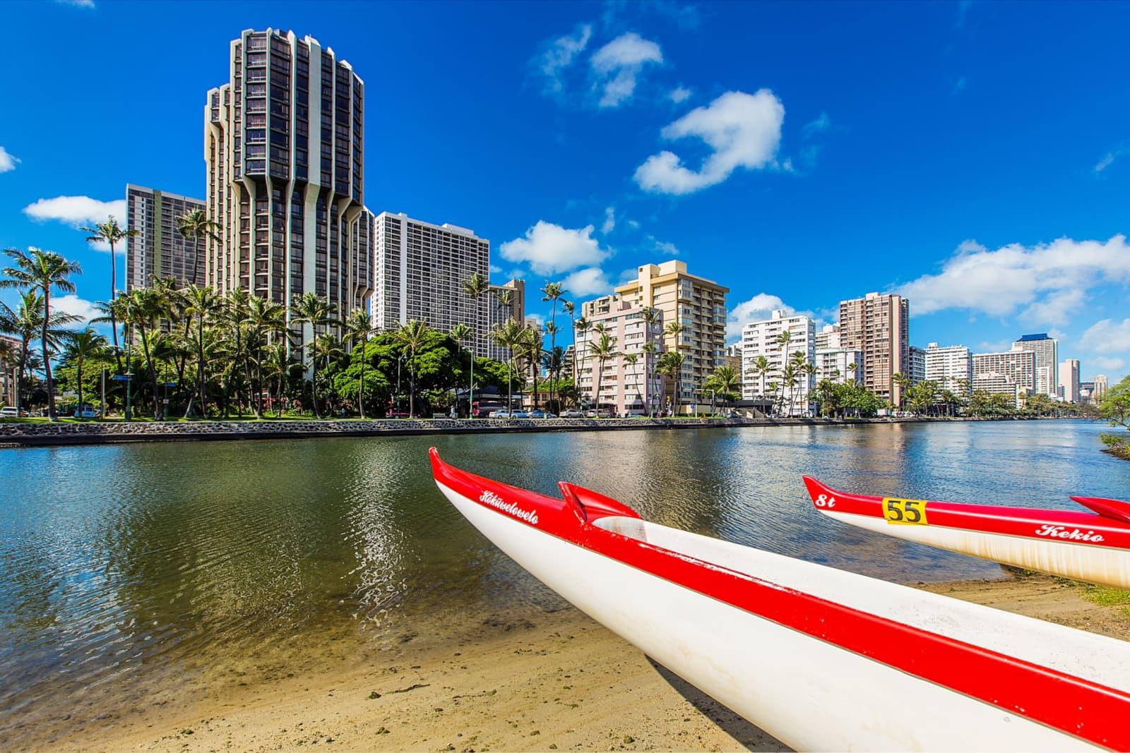 Scott Startsman   Waikiki Over Water